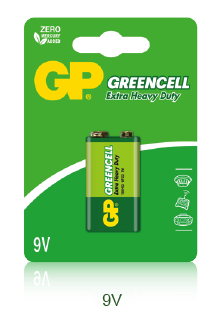 Greencell Çinko Karbon piller
